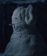 Vulcan snowman