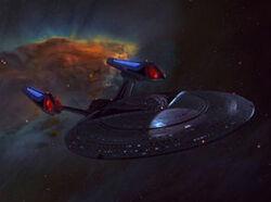 292px-USS Enterprise-E in nebula