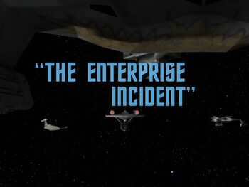 The Enterprise Incident title card