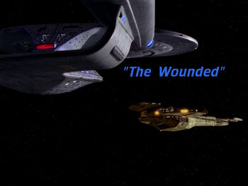 The Wounded title card