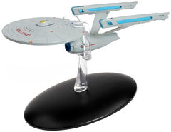 Eaglemoss 2 Enterprise refit