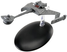 Eaglemoss 7 Ktinga Battle Cruiser