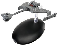 Eaglemoss 7 Ktinga Battle Cruiser