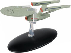 Eaglemoss Phase II USS Enterprise refit