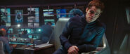 James T. Kirk during the Kobayashi Maru scenario