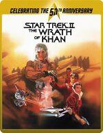 Star Trek II Director's Cut Blu-ray steelbook cover Region B