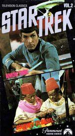 TOS Television Classics Vol 2 VHS