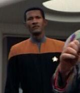 Voyager operations bridge officer, 2374