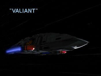 Valiant title card