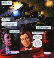 Battle of Genesis told by Leonard McCoy