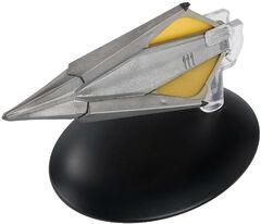 Eaglemoss 129 Tholian Starship 23rd C