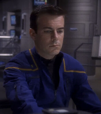 ... as Ensign Hutchison