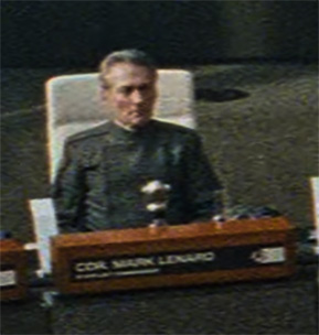 Commander Mark Lenard