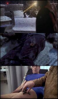 Rana postrzałowa Archer ENT S01E01-02