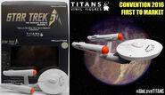 Star Trek Titans WNMHGB Collection 4.5-inch USS Enterprise