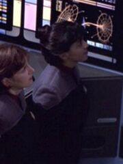Sternenflottenoffizier Wissenschaft 8 MIDAS-Phalanx 2376