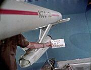 USS Enterprise eleven-foot studio model unused Howard Anderson Company effects footage