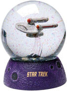 Westland Giftware USS Enterprise Water Globe