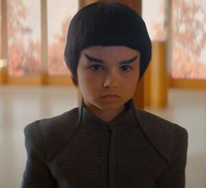Young Spock meets Michael Burnham