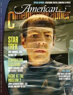 American Cinematographer cover July 2009