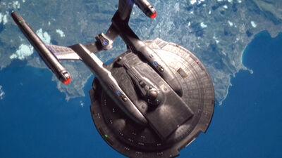 Enterprise NX-01 über Keto-Enol