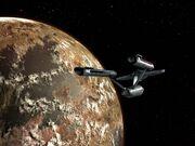 Enterprise bei Gamma Hydra IV