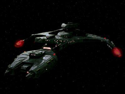 Klingonischer Angriffskreuzer der Vor'cha-Klasse