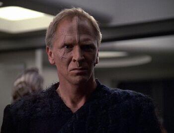 "Lansor aboard <i>Voyager</i> in <a href=""/wiki/2376"" title=""2376"">2376</a>"