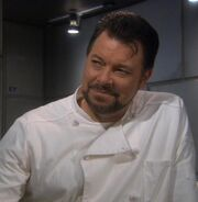 Riker as Enterprise Chef