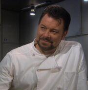 Riker as Enterprise Chef