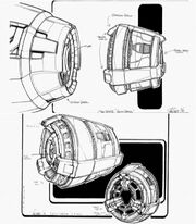Son'a collector escape pod concept by John Eaves