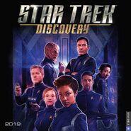 Star Trek Discovery Calendar 2019
