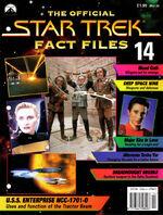 Star Trek Fact Files Part 14 cover