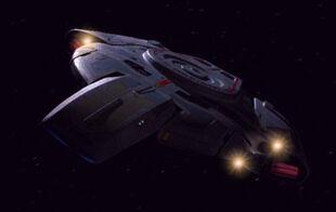 USS Defiant in 2375