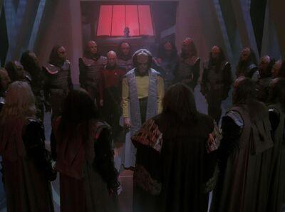 Worf wird entehrt