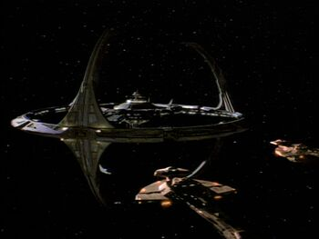Jasad's warship