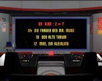 DVD-Menü TOS Staffel 1 Disc 2