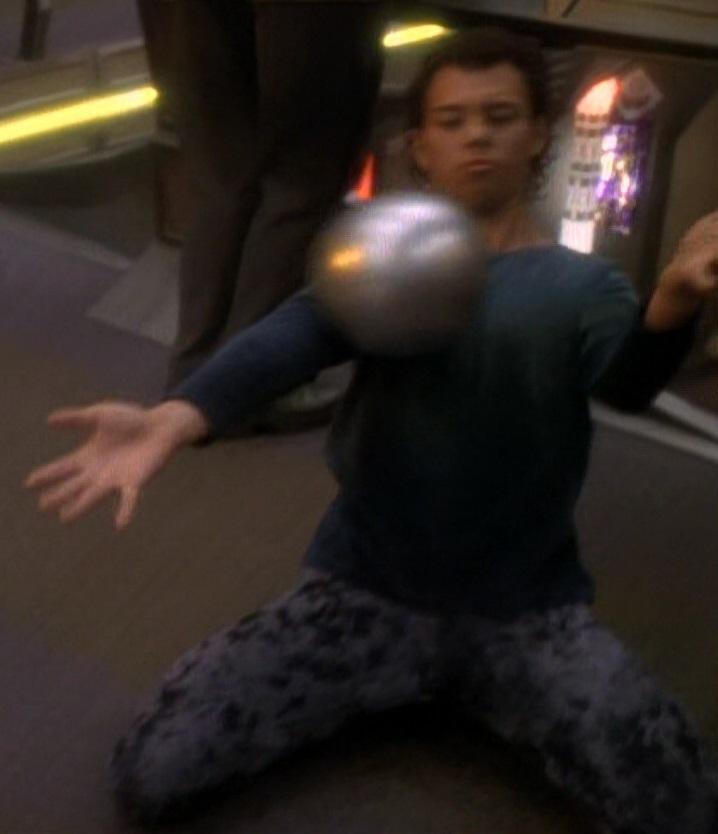 ...as a contact juggler