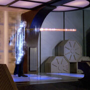 Phaser beam in transporter