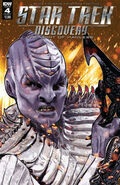 Star Trek Discovery - The Light of Kahless, issue 4 cover A