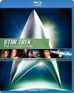 Star Trek V The Final Frontier Blu-ray cover Region A (Japan)