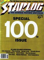Starlog issue 100 cover