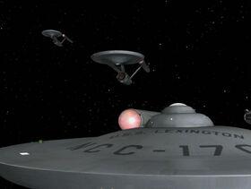 USS Lexington remastered