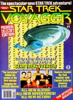 VOY Official Magazine issue 1 (with hologram)