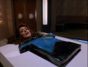Counselor Deanna Troi als Kuchen