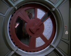 Deep Space 9 airlock
