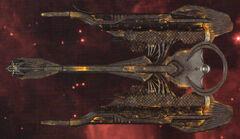 Eaglemoss Klingon Qaw' Class