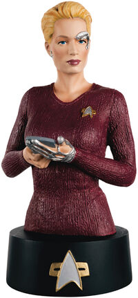 Eaglemoss Seven of Nine bust