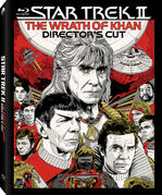 Star Trek II Director's Cut Blu-ray cover Region A
