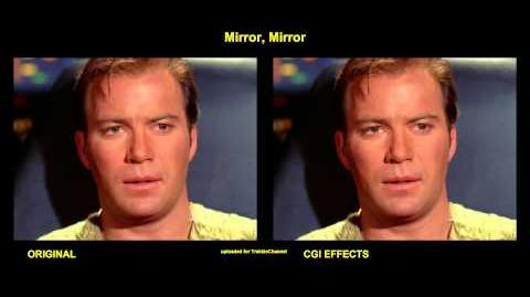 "TOS ""Mirror, Mirror"" - ""Miroir, miroir"" - comparaison des effets spéciaux"
